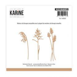 Dies Intemporelle Jolies graminées -Les Ateliers de Karine