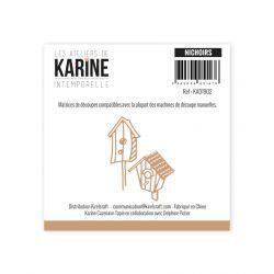 Dies Intemporelle Nichoirs -Les Ateliers de Karine