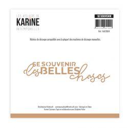 Die Intemporelle Se souvenir -Les Ateliers de Karine