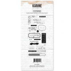 Tampon clear Intemporelle C'est ton jour- Les Ateliers de Karine