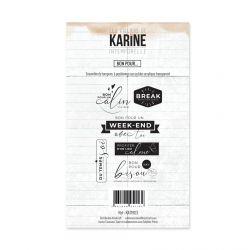 Clear Stamp Intemporelle Bon pour...- Les Ateliers de Karine