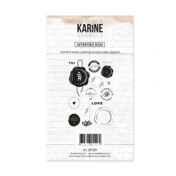 Tampon clear Intemporelle Authentique Sceau- Les Ateliers de Karine