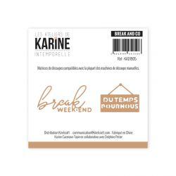 Clear Stamp Intemporelle Clic Clac - Les Ateliers de Karine