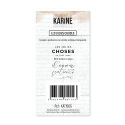 Tampon clear Intemporelle Les jolies choses - Les Ateliers de Karine