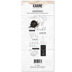 Clear Stamp Intemporelle Rencontre insolite- Les Ateliers de Karine