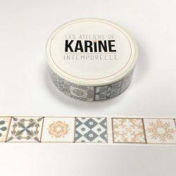 Masking Tape Azulejo-Karine Cazenave Tapie