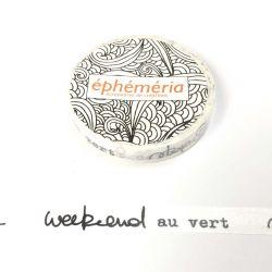 Washi Tape Go Green- éphéméria