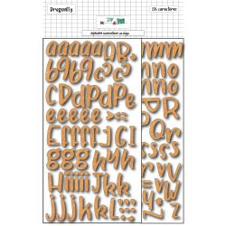 Stickers Alphabet cork - DIY and Cie