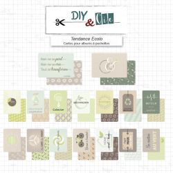 Set de cartes Project Life : Tendance écolo - DIY and Cie