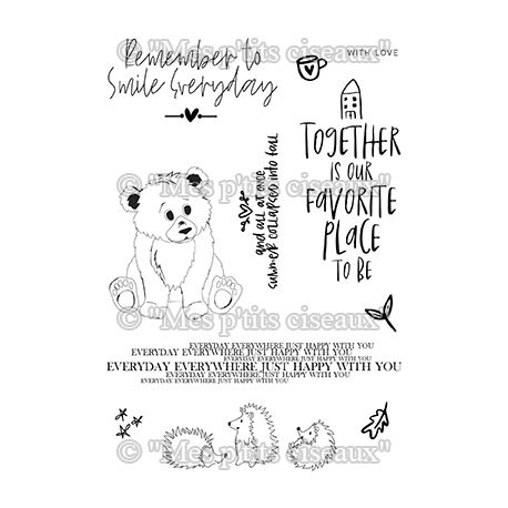 Clear stamp Together - Mes Ptits Ciseaux