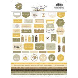 Sous-Bois labels - Mes Ptits Ciseaux