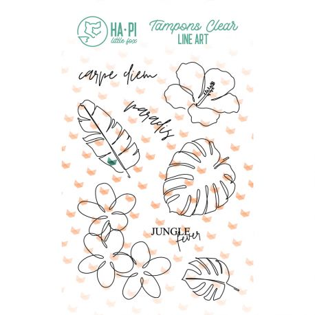 Clear stamps Paradis - HA PI Little Fox
