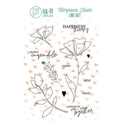 Clear stamps Heureux ensemble  - HA PI Little Fox