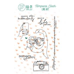 Clear stamps Moments gravés - HA PI Little Fox