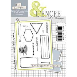 Tampon clear - Les Etiquettes Cousues - L'Encre et l'Image