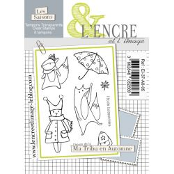 Clear Stamp - Fall Family Fun - L'Encre et l'Image