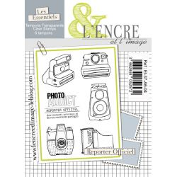 Clear Stamp - Official Reporter - L'Encre et l'Image