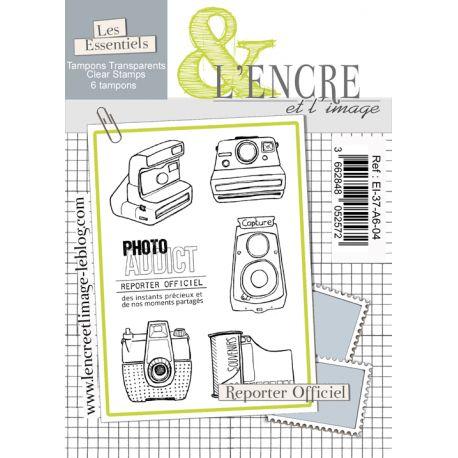Clear Stamp - Official Reporter - L'Encre et l'Image