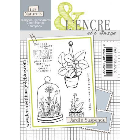 Tampon clear - Jardin Suspendu - L'Encre et l'Image