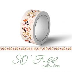 Washi Tape So'Fall Les Feuillages - Sokaï