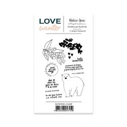Stamps 1 Love Winter - Béatrice Garni