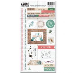 Jardin d'Hiver-Stickers 15X30