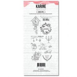 Clear Stamp Jardin d'Hiver Soir de fête - Les Ateliers de Karine