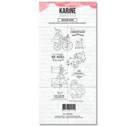 Tampon clear Jardin d'Hiver Mon beau sapin- Les Ateliers de Karine