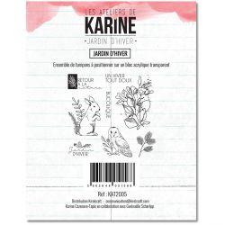 Clear Stamp Jardin d'Hiver Jardin d'Hiver  - Les Ateliers de Karine