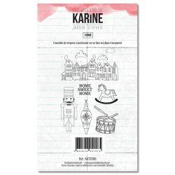 Clear Stamp Jardin d'Hiver Home - Les Ateliers de Karine