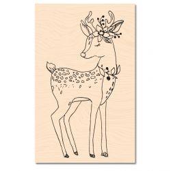 Wooden Stamp Jardin d'Hiver Oh ma biche -Les Ateliers de Karine