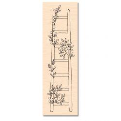 Wooden Stamp Jardin d'Hiver Jolie échelle -Les Ateliers de Karine