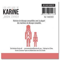 Dies Jardin d'Hiver Mr Casse Noisette -Les Ateliers de Karine