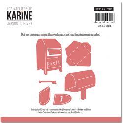 Dies Jardin d'Hiver Boites aux lettres -Les Ateliers de Karine
