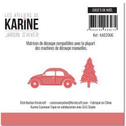 Dies Jardin d'Hiver Cocc's de NOEL -Les Ateliers de Karine