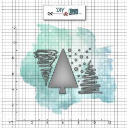 Die : Trio sapin v2 - DIY and Cie