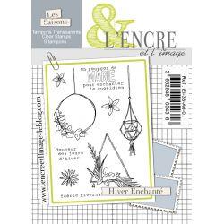 Tampon clear - Hiver Enchanté - L'Encre et l'Image