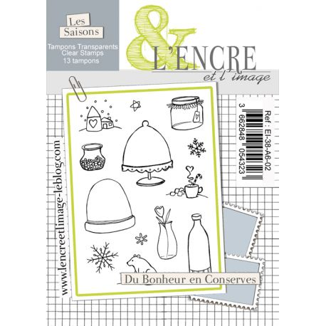 Clear Stamp - Happiness Tins - L'Encre et l'Image