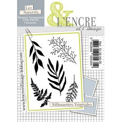 Clear Stamp - Silhouette of Leaves - L'Encre et l'Image