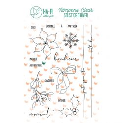 Tampons clear Bonheur authentique - HA PI Little Fox