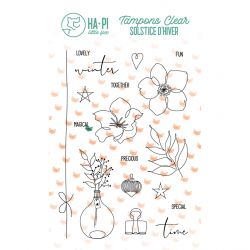 Tampons clear Lovely winter - HA PI Little Fox