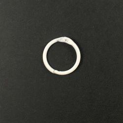 Anneau brisé blanc 25 mm