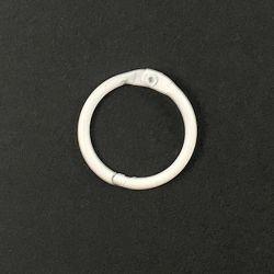 Anneau brisé blanc 38 mm