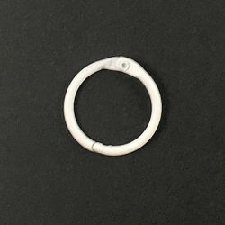 Binder ring White 25 mm
