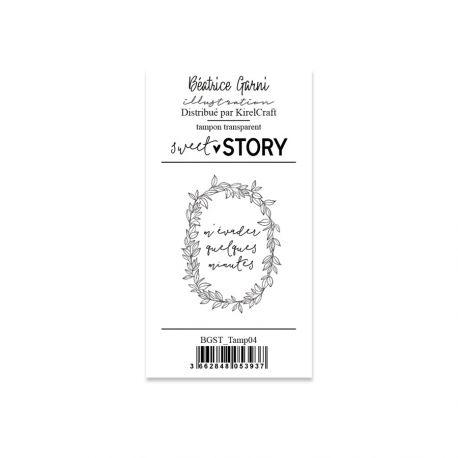 Stamps  4 Sweet story - Béatrice Garni