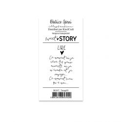 Stamps  3 Sweet story - Béatrice Garni