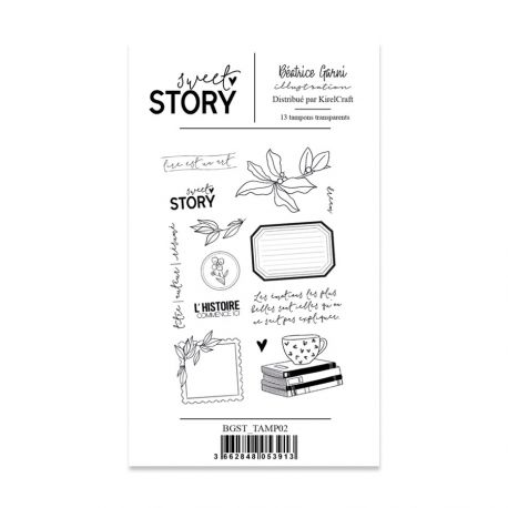 Stamps 2 Sweet story - Béatrice Garni