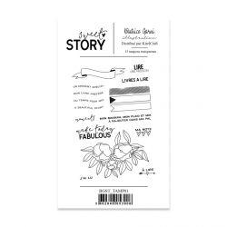 Tampons 1 Sweet story - Béatrice Garni