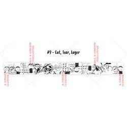 Washi Tape 9-Cut, Tear, Layer- AALL and Create