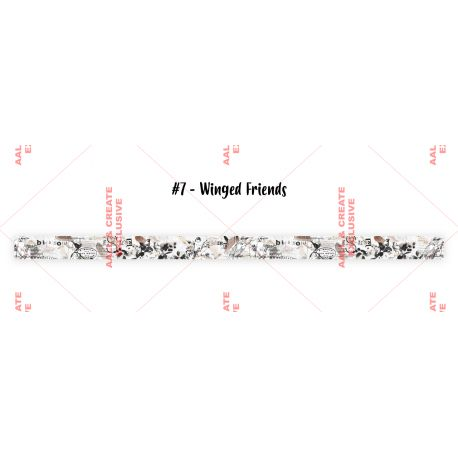 Washi Tape 07-Winged Friends- AALL and Create